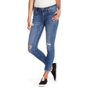 Vigoss Jagger Skinny Distressed Jeans Size 27